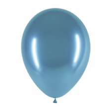 "Chromium Blue 5 inch Balloons - Decotex 5"" Balloons 50pcs"